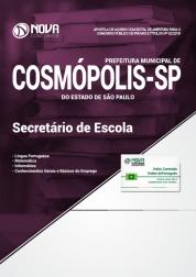 Apostila Prefeitura de Cosmópolis - SP - Secretário de Escola