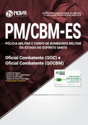 Apostila PM-ES e CBM - ES - Oficial Combatente (QOC) e Oficial Combatente Bombeiro Militar (QOCBM)