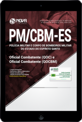 Download Apostila PM-ES e CBM - ES - Oficial Combatente (QOC) e Oficial Combatente Bombeiro Militar (QOCBM) (PDF)
