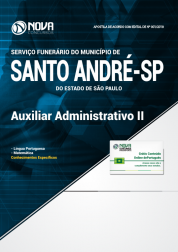 Apostila Prefeitura de Santo André - SP - Auxiliar Administrativo II