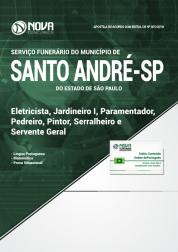 Apostila Prefeitura de Santo André - SP - Eletricista, Jardineiro I, Paramentador, Pedreiro, Pintor, Serralheiro e Servente Geral