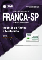 Apostila Prefeitura de Franca - SP - Inspetor de Alunos e Telefonista