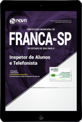 Download Apostila Prefeitura de Franca - SP - Inspetor de Alunos e Telefonista (PDF)