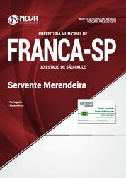 Apostila Prefeitura de Franca - SP - Servente/Merendeira