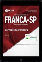 Download Apostila Prefeitura de Franca - SP - Servente/Merendeira (PDF)