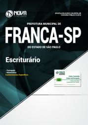 Apostila Prefeitura de Franca - SP - Escriturário