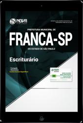 Download Apostila Prefeitura de Franca - SP - Escriturário (PDF)