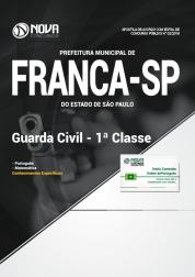 Apostila Prefeitura de Franca - SP - Guarda Civil - 1ª Classe