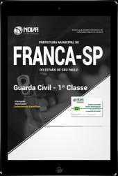 Download Apostila Prefeitura de Franca - SP - Guarda Civil - 1ª Classe (PDF)