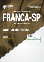 Apostila Prefeitura de Franca - SP - Auxiliar de Saúde