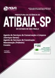 Apostila Prefeitura de Atibaia - SP - Agente de Serviços Gerais, Pedreiro e Coveiro