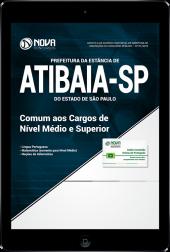 Download Apostila Prefeitura de Atibaia - SP - Comum aos Cargos de Nível Médio e Superior (PDF)