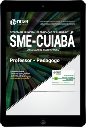 Download Apostila SME Cuiabá - MT - Professor - Pedagogo (PDF)