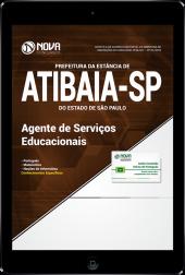 Download Apostila Prefeitura de Atibaia - SP - Agente de Serviços Educacionais (PDF)