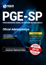 Apostila PGE-SP - Oficial Administrativo