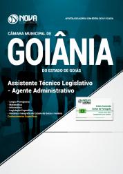 Apostila Câmara de Goiânia - GO - Assistente Técnico Legislativo - Agente Administrativo