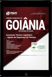 Download Apostila Câmara de Goiânia - GO - Assistente Técnico Legislativo - Agente de Segurança do Plenário (PDF)
