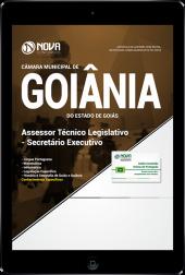 Download Apostila Câmara de Goiânia - GO - Assessor Técnico Legislativo - Secretário Executivo (PDF)