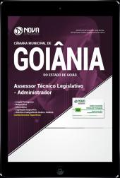 Download Apostila Câmara de Goiânia - GO - Assessor Técnico Legislativo - Administrador (PDF)