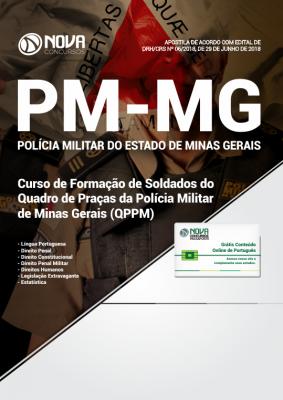 Apostila Soldado PM-MG - Curso de Formação de Soldados