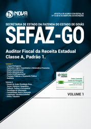 Apostila SEFAZ-GO - Auditor Fiscal da Receita Estadual - Classe A: Padrão 1
