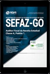 Download Apostila SEFAZ-GO - Auditor Fiscal da Receita Estadual - Classe A: Padrão 1 (PDF)