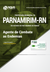 Apostila Prefeitura de Parnamirim - RN - Agente de Combate as Endemias