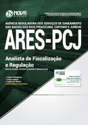 Apostila ARES-PCJ SP - Analista de Fiscalização e Regulação (Área de Atuação: Contábil, Economia e Administração)