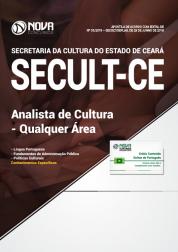 Apostila SECULT-CE - Analista de Cultura - Qualquer Área