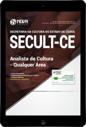 Download Apostila SECULT-CE - Analista de Cultura - Qualquer Área (PDF)
