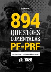 Livro de Questões Comentadas PF/PRF