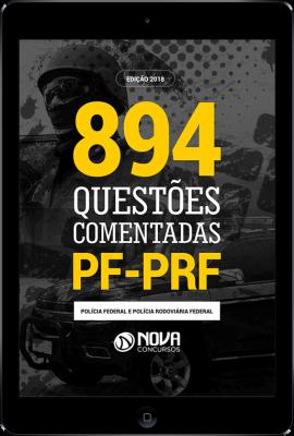 Download e-book de Questões Comentadas PF/PRF (PDF)
