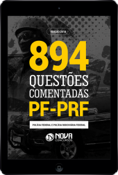 Download e-book de Questões Comentadas PF/PRF (PDF)
