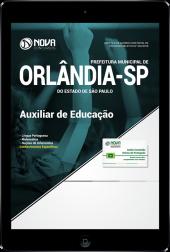 Download Apostila Prefeitura de Orlândia - SP - Auxiliar de Educação (PDF)