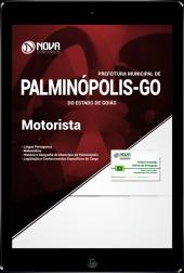 Download Apostila Prefeitura de Palminópolis - GO - Motorista (PDF)