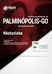 Apostila Prefeitura de Palminópolis - GO - Motorista