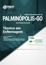 Apostila Prefeitura de Palminópolis - GO - Técnico em Enfermagem