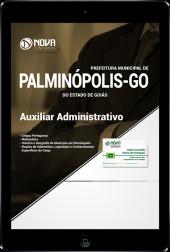 Download Apostila Prefeitura de Palminópolis - GO - Auxiliar Administrativo (PDF)