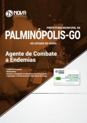 Apostila Prefeitura de Palminópolis - GO - Agente de Combate a Endemias