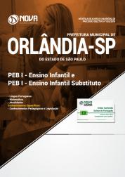 Apostila Prefeitura de Orlândia - SP - PEB I - Ensino Infantil e Ensino Infantil Substituto