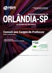 Apostila Prefeitura de Orlândia - SP - Comum aos Cargos de Professor PEB II