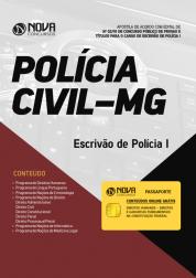 Apostila PC-MG - Escrivão de Polícia I
