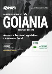 Apostila Câmara de Goiânia - GO - Assessor Técnico Legislativo - Assessor Geral