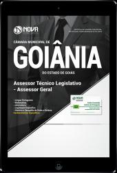 Download Apostila Câmara de Goiânia - GO - Assessor Técnico Legislativo - Assessor Geral (PDF)