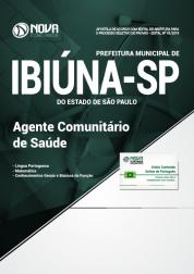 Apostila Prefeitura de Ibiúna - SP - Agente Comunitário de Saúde