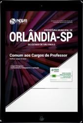 Download Apostila Prefeitura de Orlândia - SP - Comum aos Cargos de Professor PEB II (PDF)