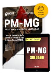 Kit Aprovação PM-MG Soldado (Frete Grátis)