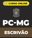Curso PC-MG Escrivão (pós-edital)