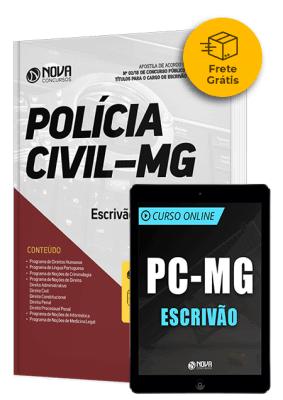 Kit Aprovação PC-MG - Escrivão (Frete Grátis)