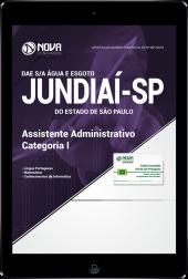 Download Apostila DAE de Jundiaí - SP - Assistente Administrativo - Categoria I (PDF)